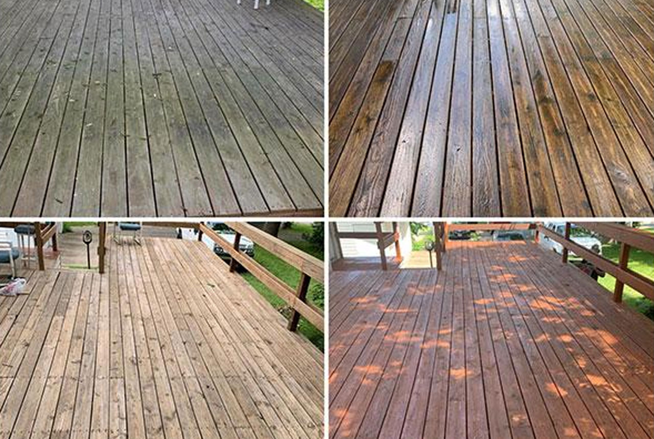Deck & Fence Staining & Restoration